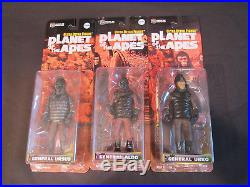 Medicom Planet of the Apes Complete Collection with Variants (22 Figures)