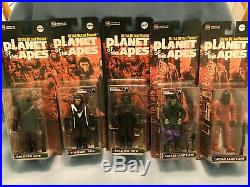 Medicom Planet of the Apes Ultra Detail FIgures Complete Set of 19 plus 2 extra