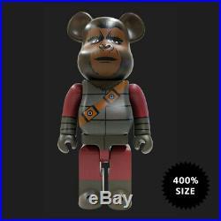 Medicom Toy Bearbrick Beneath The Planet Of The Apes General Ursus 400% NIB