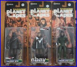 Medicom Toy UDF Planet of the Apes 12 pcs Nova Zira etc Ultra Detail Figure