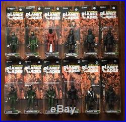 Medicom Ultra Detail Figures Planet of the Apes Figures Full Complete Set (22)