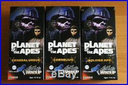 Medicom Wind Up Walking Tin Figure Ursus Cornelius Soldier Planet of the Apes