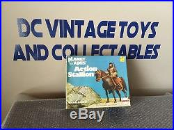 Mego 1967 vintage Planet of the Apes Action Stallion UNUSED BRAND NEW LOOK WORKS