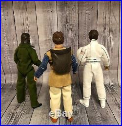 Mego Custom Planet of the Apes Caesar, Burke, & Astronaut 8 Action Figures