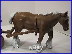 Mego Planet Of The Apes 1975 Horse Catapult & Wagon Set Canada Rare