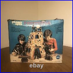 Mego Planet Of The Apes Fortress Playset 1974 100% COMPLETE