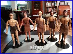 Mego Planet Of The Apes POTA 5 Custom Figure Slave Lot 8 Figures