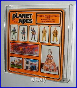 Mego Planet Of The Apes Peter Burke 1975 Afa Graded With Case- Unpunched Card