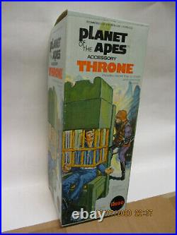 Mego Planet of the Apes Accessory Throne OVP