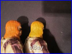 Mego Planet of the Apes Dr. Zaius Figure Yellow Hair Variant (Complete) T-2 Body
