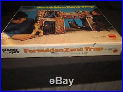 Mego Planet of the Apes Forbidden Zone with Box (Cleaned and Restored)