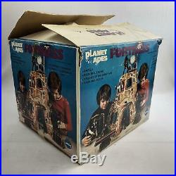 Mego Planet of the Apes Fortress in Original Box