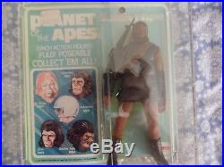 Mego Planet of the Apes POTA Soldier Ape MOC rare vintage never opened