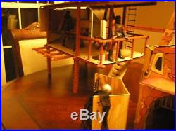 Mego Planet of the Apes POTA Treehouse Only No Ape Figures are included