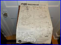 Mego Planet of the Apes Treehouse Box Only with Instruction sheet 1967