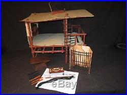 Mego Planet of the Apes Treehouse (Complete and All Mego Parts)