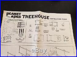 Mego Planet of the Apes Treehouse playset missing 2 parts with box Vintage used
