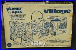 Mego Planet of the Apes Village playset complete in box vintage 1974 CLEAN