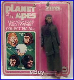 Mego Planet of the Apes Zira 8 in Action Figure in Original Packaging 1967