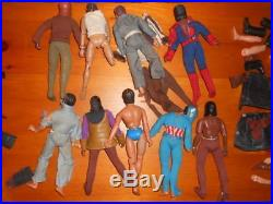 Mego Planet of the apes action figures lot with weapons rifles 1974