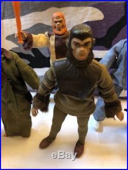 Mego Vintage Planet Of The Apes POTA Action Figure Lot 1970's