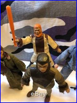 Mego Vintage Planet Of The Apes POTA Action Figure Lot 1970's