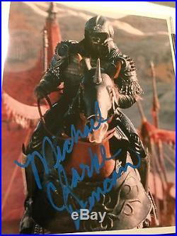 Michael Clarke Duncan Hand Signed Still 8x10 Planet Of The Apes