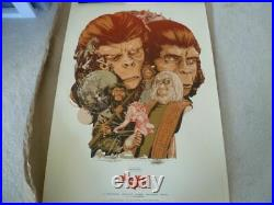 Mondo Planet of the Apes 2012 Complete set 6 Posters Art Screen Print Go Ape