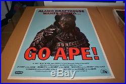 Mondo Print Jason Edmiston Go Ape Planet of the Apes Movie Poster