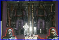 NECA Classic Planet of the Apes 7 General Ursus Infantry 2 Pack Gorilla Soldier