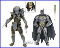 NECA DC Batman vs Aliens Predator NYCC 2019 Comic-Con Exclusive 7 Figure 4 Set
