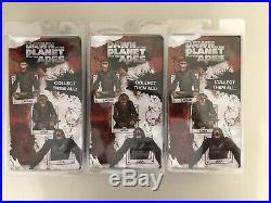 NECA Dawn Of The Planet of the Apes LOT Caesar, Luca, Koba Figures