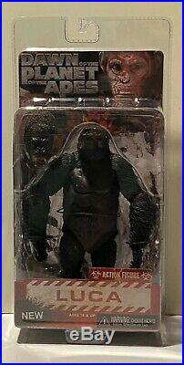 NECA Dawn of the Planet of the Apes Luca (Series 2) MOSC