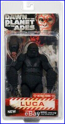 NECA Dawn of the Planet of the Apes Series 2 Luca Action Figure