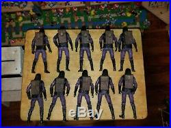 NECA PLANET OF THE APES ARMY! Lot of 10 TRU Exclusive Soldiers Loose with Weapons