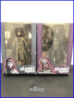 NECA Planet of The Apes 7 Classic Series 2 Zira & NECA General Ursus Lot Of 2