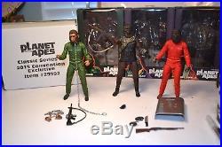 NECA Planet of the Apes 7 Scale Figure Set Aldo, Caesar & Conquest Gorilla