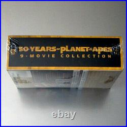 NEW 50 Years of Planet of the Apes 4K UltraHD Blu-Ray 9-Movie Collectors Box Set