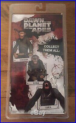Neca Dawn Of The Planet Of The Apes Luca Action Figure Very Rare