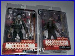 Neca Luca Planet Of The Apes Set King Kong Godzilla Maurice Caesar Koba Rare