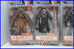 Neca Luca Planet Of The Apes Set Luca Maurice Caesar Koba Rare