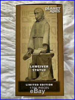 Neca Planet Of The Apes Lawgiver Statue Limited Edition -1700 Mib