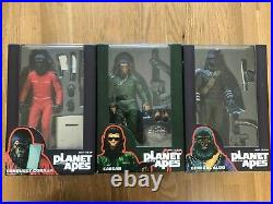 Neca Planet Of The Apes SDCC 2015 exclusive 3 Figure set