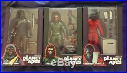 Neca planet of the apes Conquest Gorilla General Aldo Caesar Sdcc 3 Pack