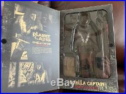 New Hot Toys 1/6 Planet of the Apes Gorilla Captain MMS89
