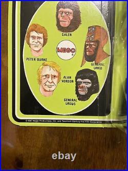 ORIGINAL 1970s Mego Planet of the Apes 8 General Ursus Mint on Card MOC