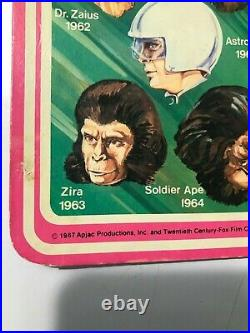 ORIGINAL 1974 Mego Planet of the Apes 8 Zira Action Figure CARDED
