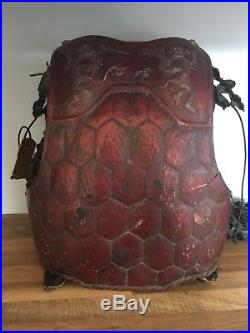 ORIGINAL 2001 Planet of the Apes Chimp Warrior Chest Armour & Sleeves