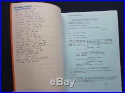 ORIGINAL ESCAPE FROM THE PLANET OF THE APES Script BRADFORD DILLMAN's Copy