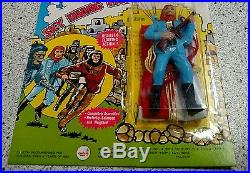 Official Planet of the Apes skydiving parachutist brand new on card. Vintage